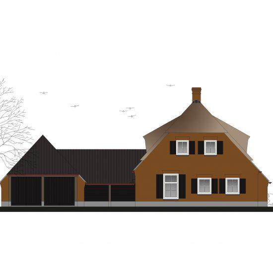 Rietgedekte Woonboerderij, Lierop, Architect Someren