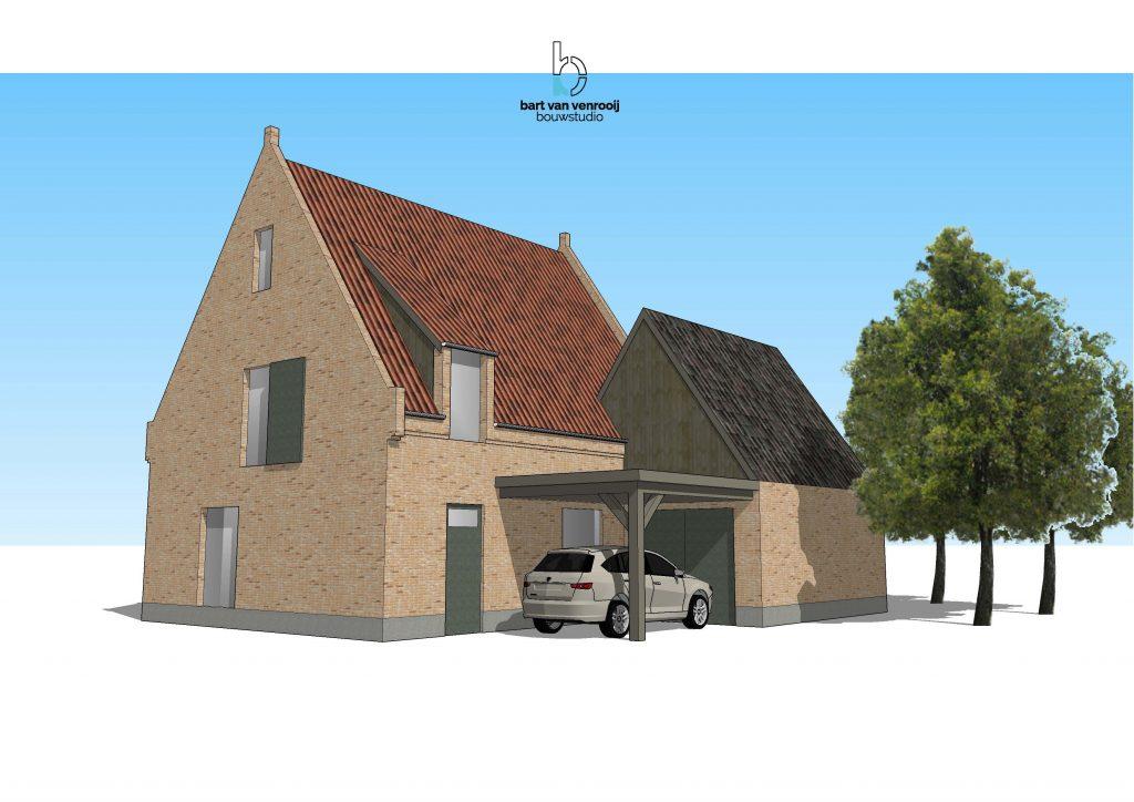 Landelijke woning in kempische sfeer bouwstudio for Landelijke woning